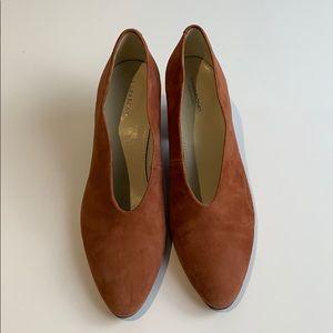 Vagabond Shoemaker suede Pink Eve Heel Size 39